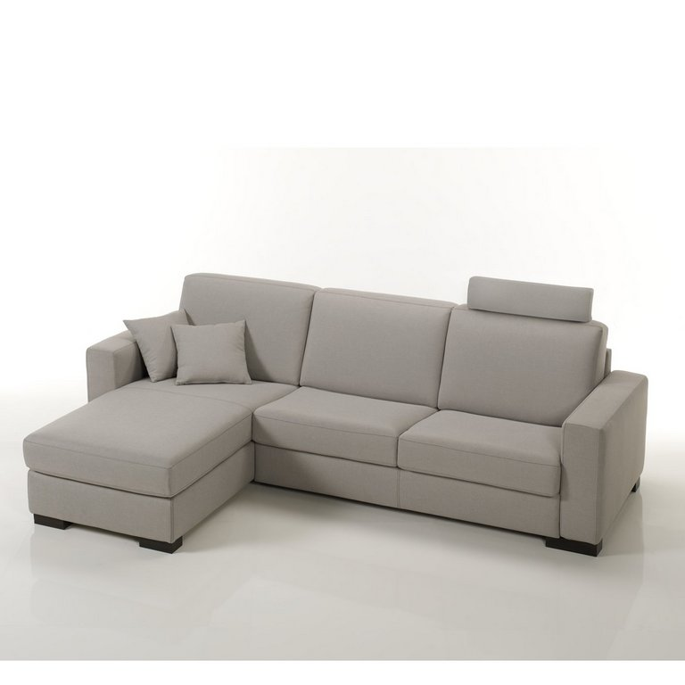 Divani letto divani con penisola confort salotti brescia for Divani piccoli con penisola